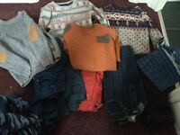 Bundle of boys clothes age 11-12 & 12-13