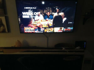 4k samsung tv 7000 series with box