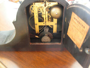 1920s Sessions 8-Day Mantle Clock Cambridge Kitchener Area image 3