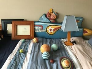 Pottery Barn Boy's room Décor - 5 Pieces