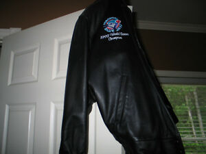 Add 20151992 world series leather coat custom made one of a kind Peterborough Peterborough Area image 3