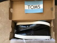 Genuine TOMS size 4 Brand New Boxed