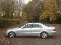 Mercedes-Benz S320 3.2 auto 1999 S320 - ONLY 1 OWNER FROM NEW - FULL MOT