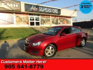 2013 Chevrolet Cruze LT Turbo  LEATHER CAM HS BT P/SEAT S/W-AUDI