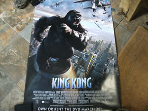 "King Kong movie poster 2005 27""x40"" Windsor Region Ontario image 1"