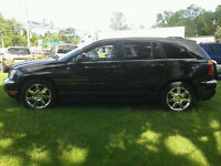 2004 Chrysler Pacifica AWD premium black suv 7 seaters