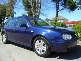 VOLKSWAGEN GOLF 1.9 TDI 2002 COMPLETE WITH M.O.T HPI CLEAR INC WARRANTY