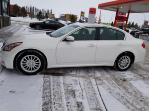 2013 Infiniti G37 X Sport + Nav - 2sets of rims & tires