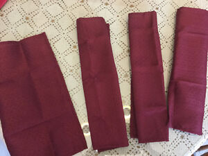 Napperons serviettes de table et centre de table