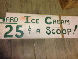 FREE Icecream Sign vintage & LOTs of STUFF FOR SALE!!