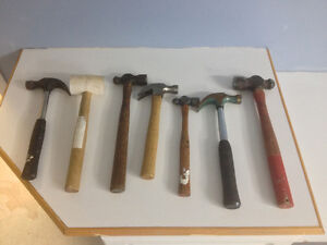 Assorted Hammers & Mallets Peterborough Peterborough Area image 1