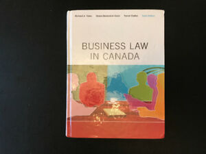 Business Law in Canada Tenth Edition by Yates