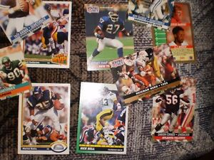 FOOTBALL CARDS FROM 90'S approx. 40 cards $20 Prince George British Columbia image 5