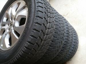 Honda PILOT CRV Mags & Tire 235-65-17 Bolt 5X114.3