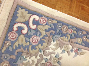 """Brilliant 5"""" x 8""""  Thick Piled Wool Area Rug CARPET SEE VIDEO"""