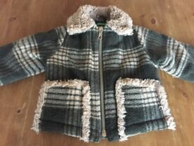 BABY JACKET 12 MONTHS UNITED COLORS OF BENETTON £15