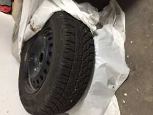 Very Good Condition Used Winter tires