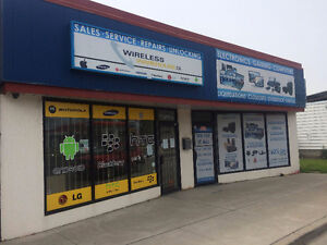 Two Retail Stores Available - Rent One or Both - Great Location