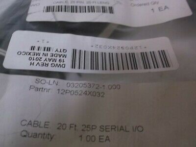 EMERSON 12P0524X032 INPUT/OUTPUT CABLE * NEW NO BOX * for sale  Shipping to India