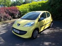 Peugeot 107 1.0 12v 2007MY Urban cheap tax low mileage bargain buy