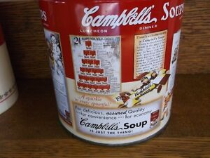 Collectible Campbell Soup Tin and Thermos Never used Belleville Belleville Area image 2