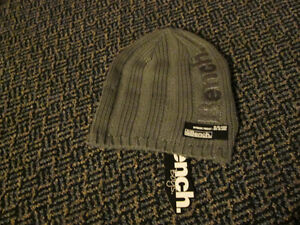 Brand NEW****WITH TAGS***Grey Kids Size 4-7 Years BENCH Beanie