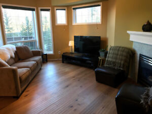 Furnished Master Bdrm for rent in Canmore with mountain views