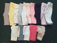 Girls 0-3 months clothes bundle