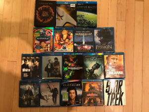 entire Blu ray collection - price drop - fire sale