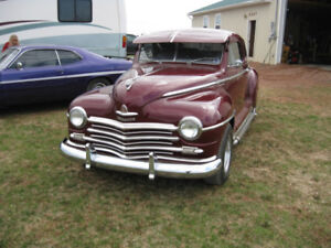 very rare 1946 plymouth business coupe special  deluxe .