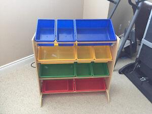Toy Organizer with 12 bins