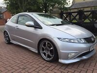 Honda Civic Type R GT model with quality modifications
