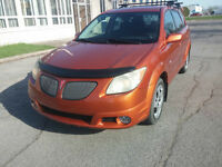 2005 Pontiac Vibe Familiale Hatchback Orange
