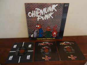 "Vinyl Records/LP""s The Chipmunks Lot of 4 Christmas"