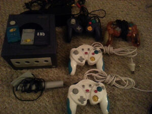 Nintendo Game Cube System & 11 Games