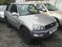 1999 Toyota 2.0 Petrol RAV4 SWB 3 Door Metallic Gold