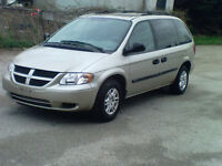 2005 Dodge Caravan Only 125kms. Certified and E tested