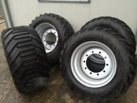 Tractor trailer wheels tyres agri farm machinery wheels
