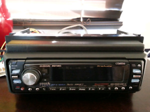VERY NICE CLARION CD DECK IN EXCELLENT CONDITION