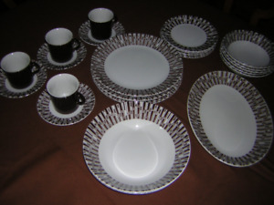 Retro -Espresso- Ridgway Dishes