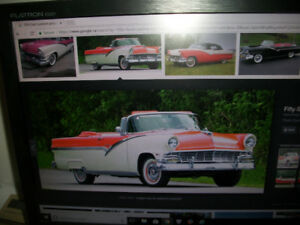 WANTED! 1956 FORD FAIRLANE SUNLINER CONVERTIBLE