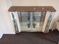 Vintage display/drinks cabinet