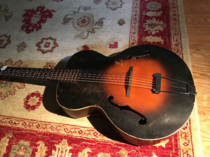 1937 Cromwell archtop made by Gibson