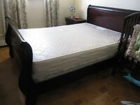 8pcs used queen bedroom set for sale