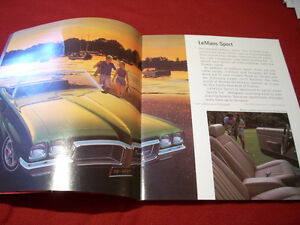 1970 Pontiac GTO sales brochure Peterborough Peterborough Area image 3