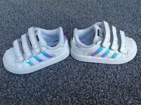 Adidas Superstars UK size 4.