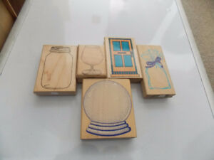 Lightly used Rubber stamps at affordable prices