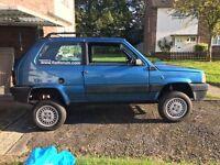 Rare 1989 Fiat Panda Sisley 4x4