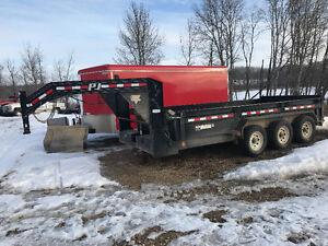 PJ 16' dump trailer