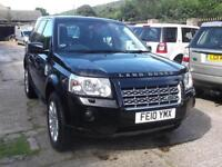 2010 10 Land Rover Freelander 2 2.2Td4 4X4 Auto HSE SAT NAV LEATHER TRIM